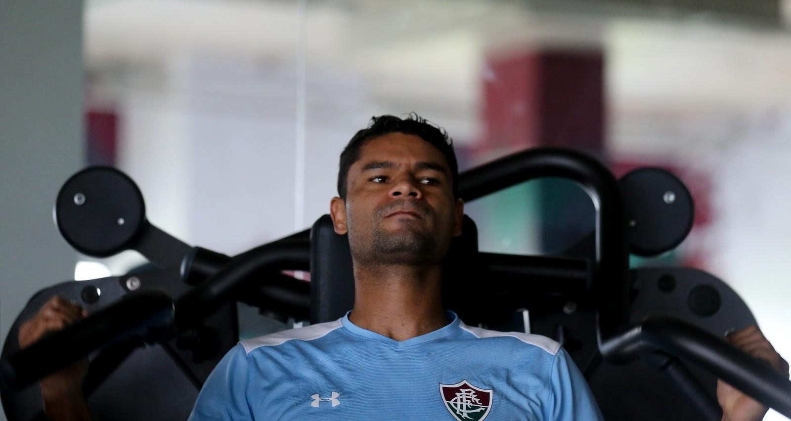 Gum foi bicampeão brasileiro pelo Fluminense — Foto: Lucas Merçon