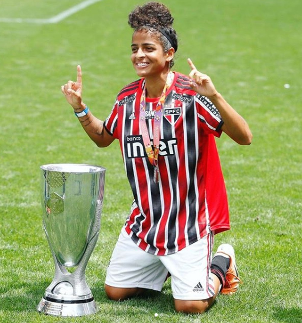 Brenda Woch foi vice-campeã do Campeonato Paulista 2019 — Foto: Arquivo Pessoal
