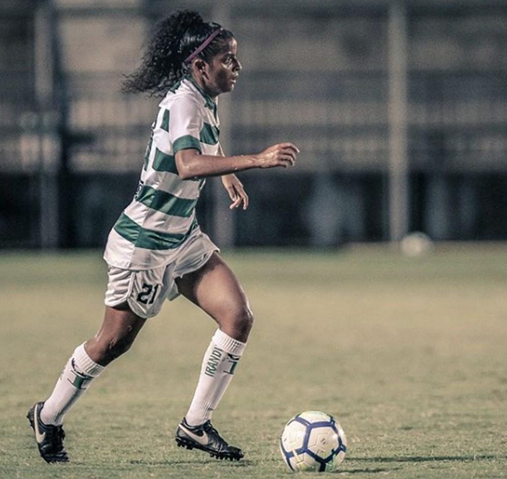 Brenda Woch disputou o Brasileirão 2019 pelo Iranduba (AM) — Foto: Arquivo Pessoal