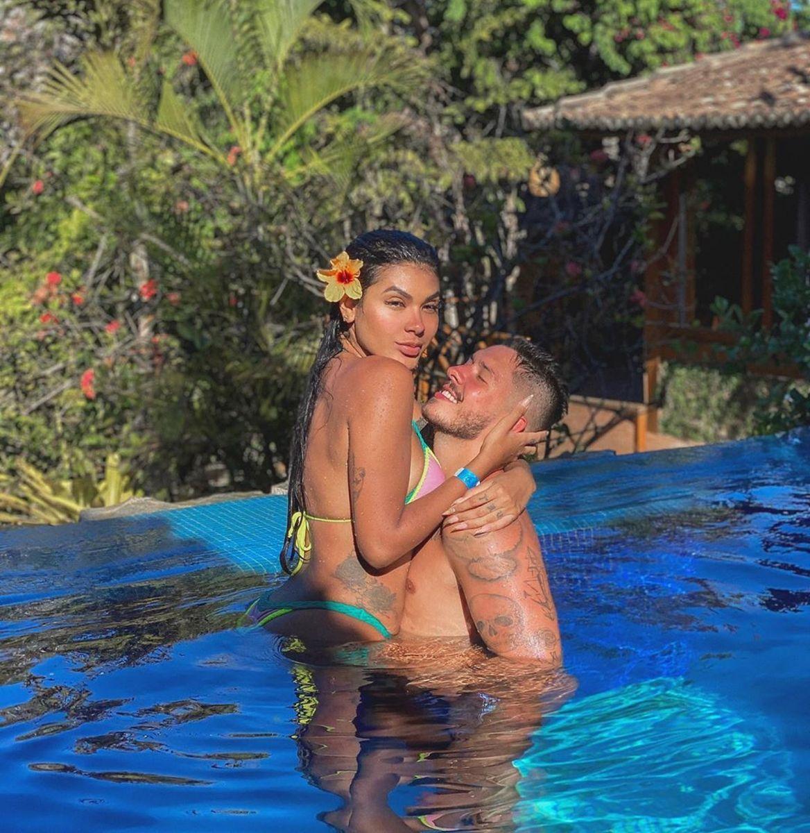 Pocah e Ronan Carvalho: o amor está no ar em 2020 — Foto: Reprodução/Instagram