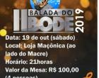 II Balada do Bode 2019