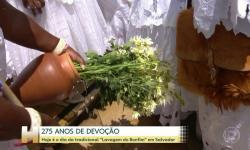 Milhares de pessoas vão as ruas de Salvador durante secular Lavagem do Bonfim: 'Muita emoção'