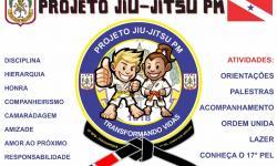 PM utiliza Jiu-jitsu para ajudar crianças e adolescentes em situação de risco no sudeste do Estado