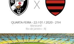 Vasco x Flamengo: veja escalações, desfalques e arbitragem