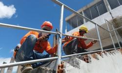 10 anos depois, obras do novo estádio do Águia, em Marabá, ainda não terminaram