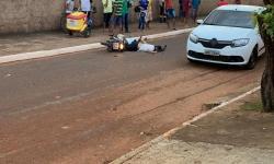 URGENTE: Em Canaã dos Carajás, homem morre após cair de motocicleta