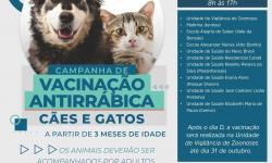 Em Canaã dos Carajás, Dia D da Campanha Antirrábica será no próximo dia 26