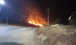 Fogo atinge Morro das Antenas em Canaã dos Carajás