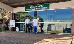 Hospital 5 de Outubro promove ação de conscientização ao câncer de mama