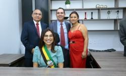Prefeita, vice e vereadores tomam posse em Canaã dos Carajás