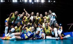 Seleção feminina de vôlei se garante na semifinal da Liga das Nações