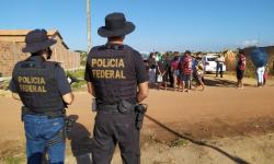 Famílias são retiradas de ocupação em terreno da Infraero, em Marabá