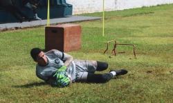 Goleiro Vinicius sofre lesão e está fora dos próximos jogos