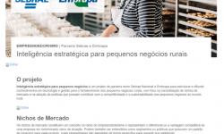 Embrapa e Sebrae estimulam pequenos empreendimentos rurais a atuarem em nichos de mercado