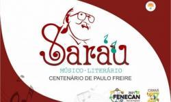 Cultura: Vem aí o 1º Sarau Literário em Canaã dos Carajás