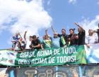 Bolsonaro recebido por centenas de seguidores em Marabá