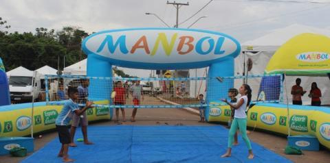 Manbol: esporte da Amazônia
