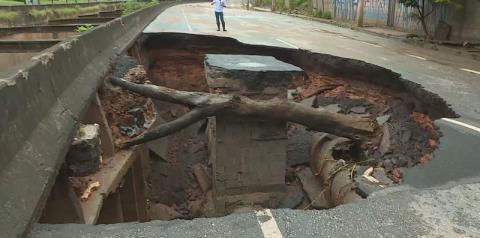 Mais um temporal provoca morte, enchentes e devastação em BH e na Região Metropolitana