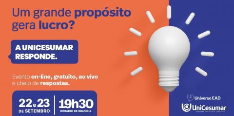 Evento promovido por universidade sobre propósito e inovação nos negócios reúne Luiza Helena Trajano e Rony Meisler