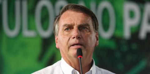 Bolsonaro inaugura 102 km de asfalto em trecho da Transamazônica