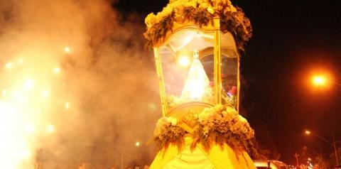 Imagem de Nossa Senhora de Nazaré chega à Paróquia de São Mateus com muita emoção