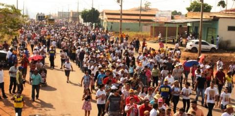Círio de Nazaré 2017 leva 10 mil pessoas em procissão pelas ruas de Canaã dos Carajás