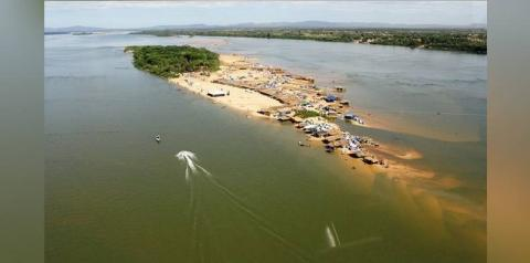 Xinguara libera praias e acampamentos para veranistas no Rio Araguaia