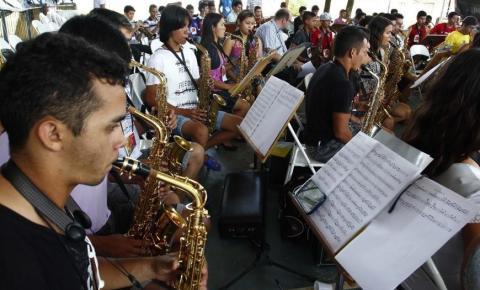 Parceria leva oficinas musicais a Canaã dos Carajás até dia 28
