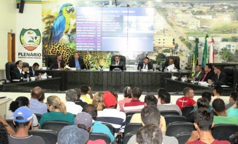 18ª Sessão tem aprovação de Projetos de Lei, indicações ao executivo e debate sobre o esporte em Canaã
