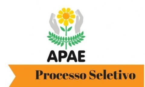 APAE de Canaã dos Carajás abre processo seletivo para a contratação de mão-de-obra para níveis fundamental, médio e superior