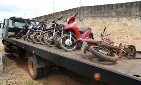 Motocicletas com registro de roubo e furto são recuperadas em Canaã