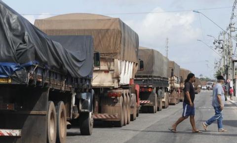 Caminhoneiros irão paralisar no Pará contra ações da Semob e da Semutran