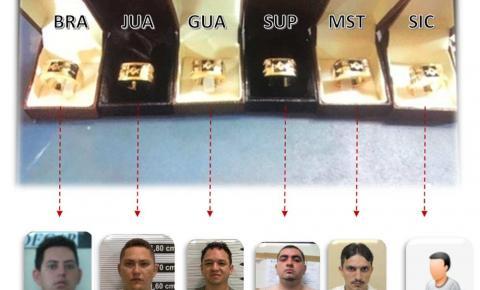 Chefes de facção no Ceará eram identificados por anéis avaliados em R$ 7 mil, aponta investigação