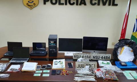Polícia prende oito pessoas em operação de combate a corrupção no Detran do Pará