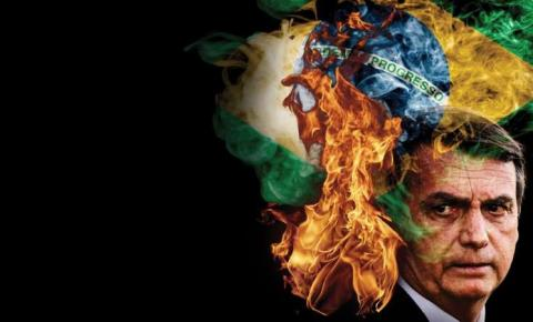 Bolsonaro queima o Brasil para o mundo