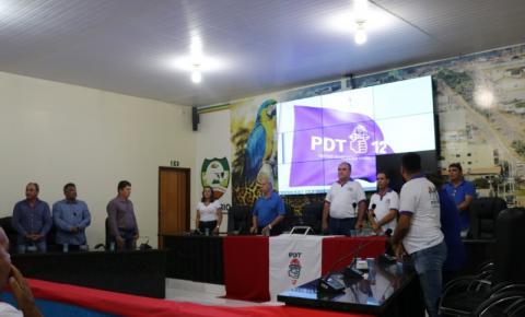 Convenção do PDT define a nova diretoria do partido em Canaã dos Carajás