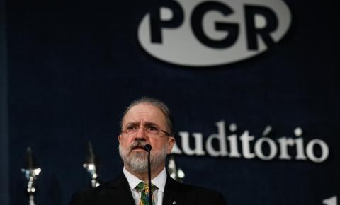 Em cerimônia na PGR, Augusto Aras promete combate 'intransigente' à corrupção