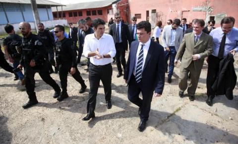 Ministro Sérgio Moro faz visita técnica em Complexo Penitenciário de Americano