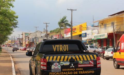Settran e Polícia Militar realizam operação conjunta em Canaã dos Carajás