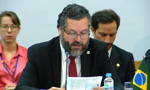 Ministro diz que Brasil não reconhece resultado da eleição para o Congresso da Venezuela