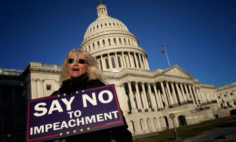 O impeachment no campo de Trump