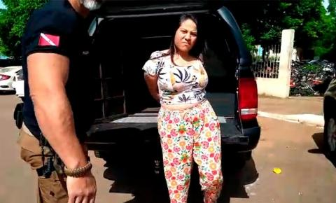 Em Parauapebas, 'primeira-dama' do PCC é presa por participação em homicídio