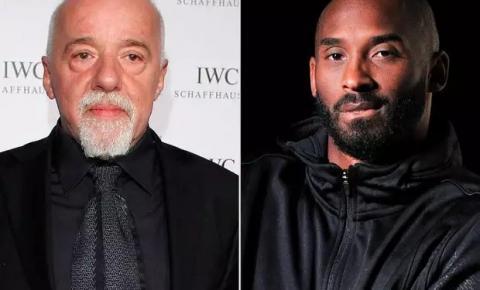 """Paulo Coelho estava escrevendo livro infantil com Kobe Bryant: """"Perdeu o sentido"""""""