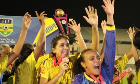 Tiradentes-PI se mantém no Top 20 dos melhores times do país no futebol feminino