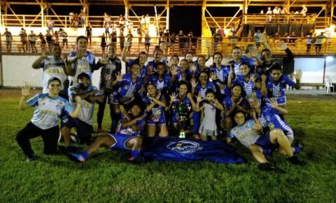 São Raimundo-RR está em 32º lugar entre 81 times no ranking da CBF de futebol feminino