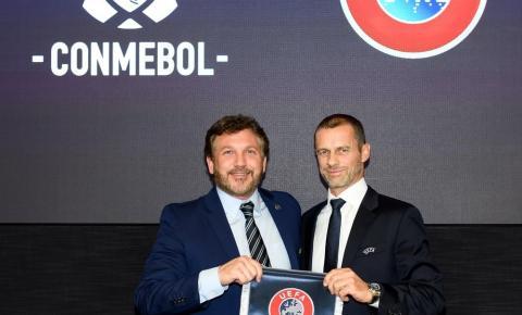 Quatro seleções, jogos em uma só cidade: Conmebol e Uefa planejam novo torneio a cada dois anos