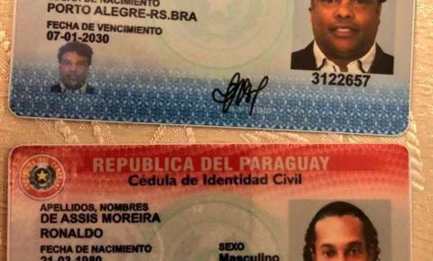 MP do Paraguai diz que nº do passaporte de Ronaldinho pertence a outra pessoa