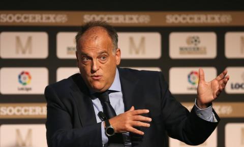 Presidente da Liga da Espanha critica Infantino e sugere acabar com Data Fifa e Mundial de Clubes