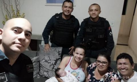 Em Jacundá Policiais Militares salvam da morte bebê de 23 dias