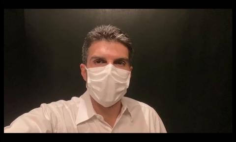Governador do Pará, Helder Barbalho testa positivo para coronavírus